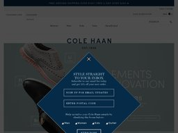 Cole Haan screenshot