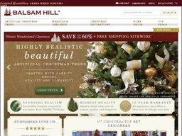 Balsam Hill screenshot