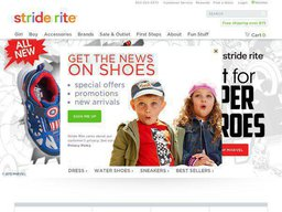 Stride Rite screenshot