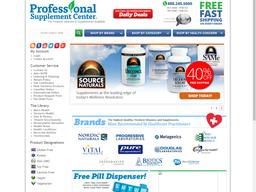 Professional Supplement Center screenshot