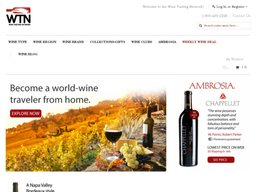 WineTasting.com screenshot