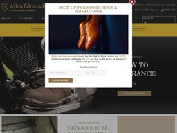 Allen Edmonds screenshot