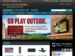 World Wide Stereo screenshot