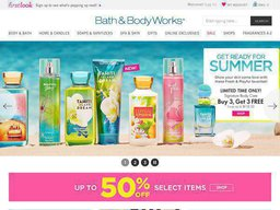 Bath & Body Works screenshot