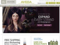 Aveda screenshot