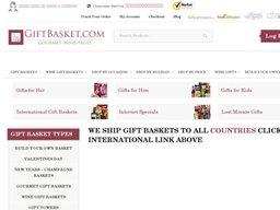 GiftBasket.com screenshot