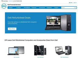 Dell Financial Services screenshot