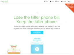 Republic Wireless screenshot