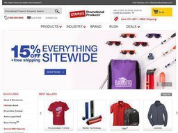 Staples Promotional Products screenshot