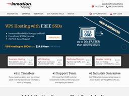 InMotion Hosting screenshot