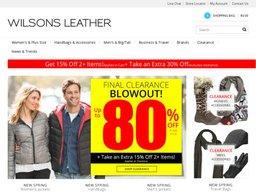 Wilsons Leather screenshot