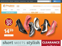 Payless Shoes screenshot