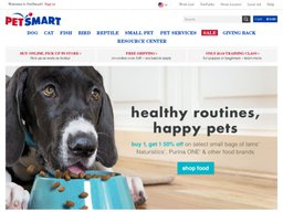 PetSmart screenshot