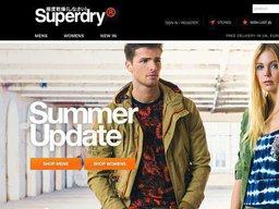 Superdry screenshot