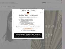 Ann Taylor screenshot