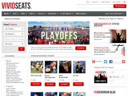 Vivid Seats screenshot