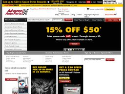 Advance Auto Parts screenshot