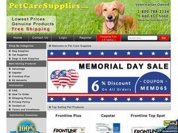 Pet Care Supplies screenshot