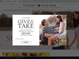 Tommy Hilfiger screenshot
