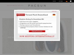 PacSun screenshot