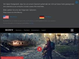 Sony screenshot