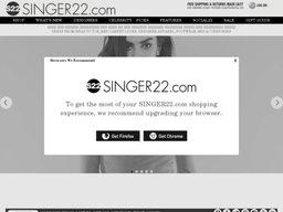 Singer22 screenshot