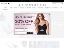 Necessary Clothing screenshot