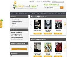 Online Sheet Music screenshot