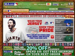 MLB Shop screenshot