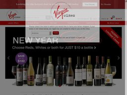 Virgin Wines screenshot