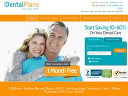 DentalPlans.com screenshot