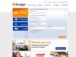 Budget Rent a Car screenshot