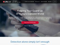LifeLock screenshot