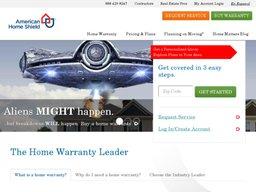American Home Shield screenshot