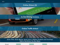 DriversEd.com screenshot