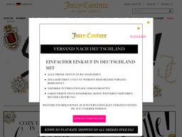 Juicy Couture screenshot