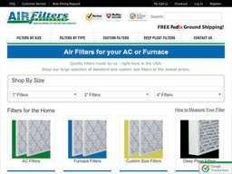 Air Filters Delivered screenshot