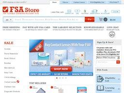 FSA Store screenshot