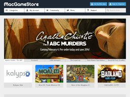 Mac Game Store screenshot