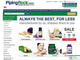 Piping Rock Health Products screenshot