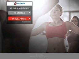 24 Hour Fitness screenshot