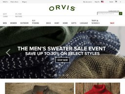 Orvis screenshot