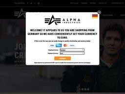 Alpha Industries screenshot