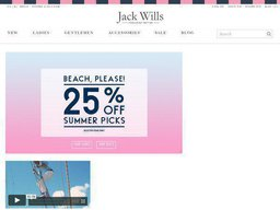 Jack Wills screenshot