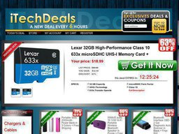 iTechDeals screenshot
