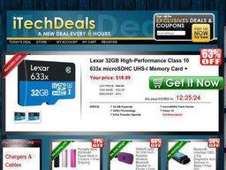iTechDeals screenshot
