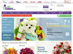 1-800-Flowers screenshot
