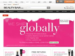 BeautyBar.com screenshot