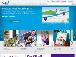 FedEx Office screenshot
