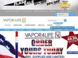 Vapor4Life screenshot